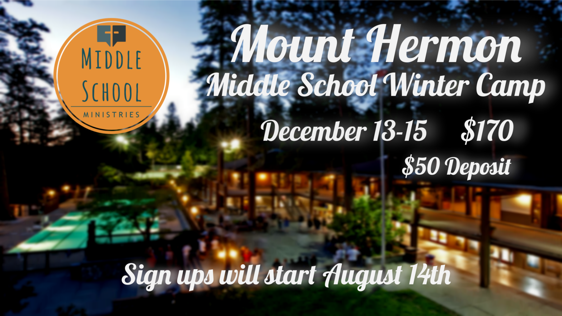 Middle School Winter Camp