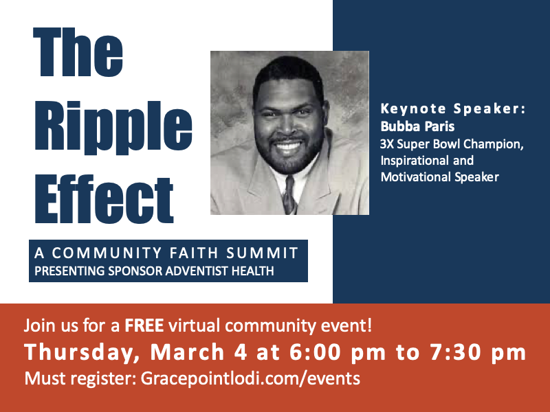 The Ripple Effect: A Community Faith Summit