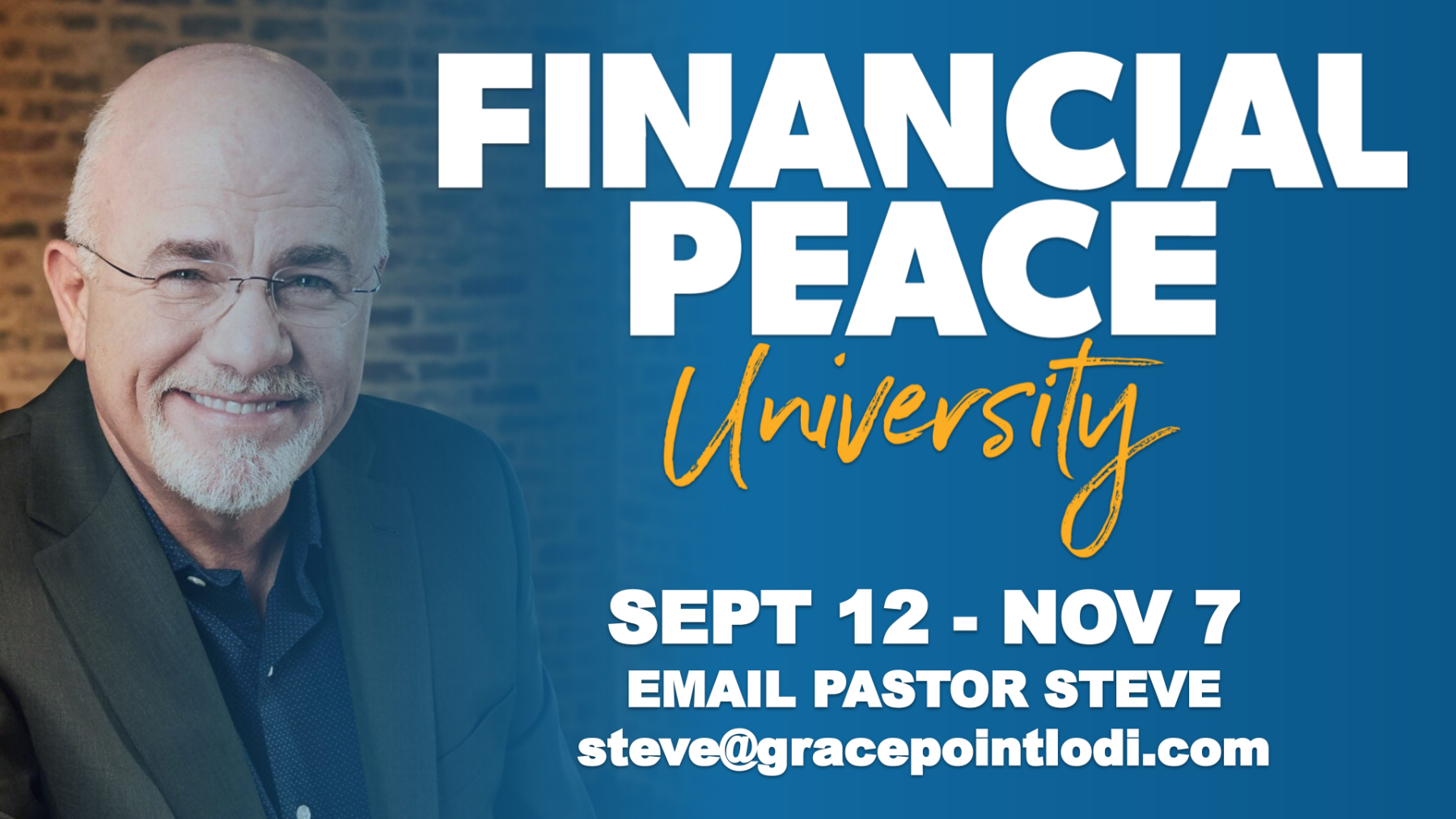 Dave Ramsey's Financial Peace University